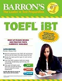 Barron's TOEFL iBT with Audio CDs and CD-ROM