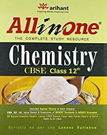 CBSE All in One Chemistry Class 12 (Old Edition)