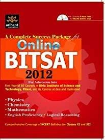 A Complete Success Package for Online Bitsat 2012