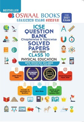 Buy e-book: Oswaal ICSE Question Bank Chapterwise & Topicwise Solved Papers, Physical Education, Class 10 (Reduc