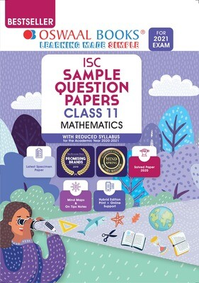 Buy e-book: Oswaal ISC Sample Question Paper Class 11 Mathematics (For 2021 Exam)