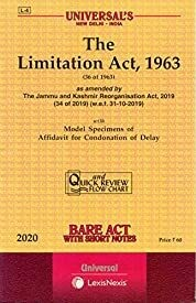 The Limitation Act, 1963 - Bare Act with Short Notes