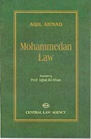 Aqil Ahmad Mohammedan Law