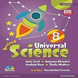 Universal Science by Pearson for CBSE Class 8