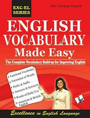 English Vocabulary Made Easy by PROF. Shrikant Prasoon