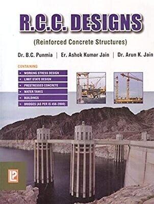 R.C.C. Designs by B.C. Punmia, Ashok Kumar Jain