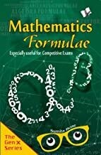Mathematics Formulae For Competitive Examinations by SUMITA BOSE