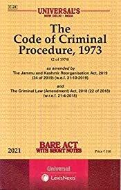 The Code of Criminal Procedure, 1973 [2021 Edn.]