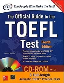 The Official Guide to the TOEFL Test With CD-ROM, 4th Edition (Old Edition)