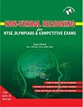 Non- verbal reasoning: For Ntse,Olympiads & Competitive Exams by Jaya Ghosh