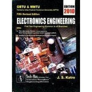 Electronics Engineering 1E Pb by Katre J S