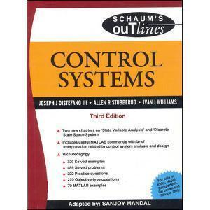 Control Systems Schaums Outline Series by Joseph Distefano