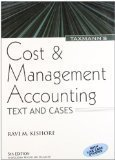 Cost and Management Accounting by M. Ravi Kishore