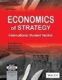 Economics of Strategy 6ed ISV by David Besanko