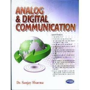 Analog  Digital Communication                     Sanjay Sharma   Pustakkosh.com