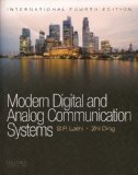 Modern Digital and Analog Communication Systems 4th Edition by Zhi Ding