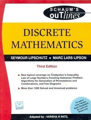 Discrete Mathematics Schaums Outlines Series by Seymour Lipschutz
