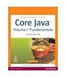 Core Java Vol 1 Fundamentals 8Ed