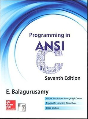 Programming in ANSI C             E.Balagurusamy| Pustakkosh.com