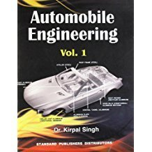 Automobile Engineering Vol I Automobile Chassis  Body by Kirpal Singh