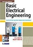 Basic Electrical Engineering Paperback by V.K Mehta , Rohit Mehta Pustakkosh.com
