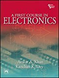 A First Course in Electronics by Khan