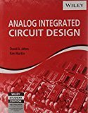 Analog Integrated Circuit Design by David A Johns