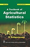 A Textbook of Agricultural Statistics by R. Rangaswamy