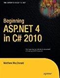 Beginning ASP.NET 4 in C 2010 by Matthew Macdonald