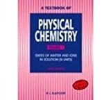 A Textbook Of Physical Chemistry Vol. 1 3E by K L Kapoor