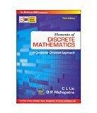 Elemnts Of Discrete Mathematics Sie3E by C Liu
