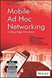 Mobile Ad Hoc Networking 2ed The Cutting Edge Directions WSE by Stefano Basagni