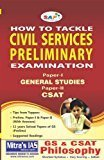 How to Tackle Civil Services Prelimary ExamPaper I and II With solved papers by NA