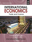 International Economics Trade and Finance International Student Version WSE by Dominick Salvatore