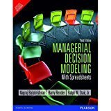 Managerial Decision Modeling with Spreadsheets by Balakrishnan N