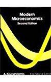 Modern Microeconomics Intl by A. Koutsoyiannis