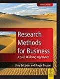 Research Methods for Business A Skill Building Approach by Uma Sekran