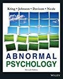 Abnormal Psychology 11ed by Johnson Kring