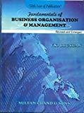 Fundamentals of Business Organisation and Management by Y.K. Bhushan