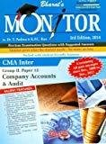 Monitor CMA Inter Group II Paper 12  Company Accounts and Audit by Dr. T Padma & KPC Rao