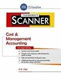 Scanner-Cost  Management Accounting CS-Executive July 2016 Edition by N.S. Zad
