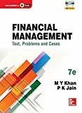 Financial Management by M.Y. Khan