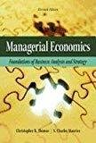 Managerial Economics Foundations of Business Analysis and Strategy by Thomas