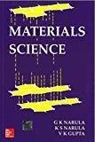 Materials Science by G. Narula