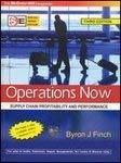 Operations Now  Supply Chain Profitability And Performance by Byron Finch