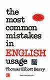 The Most Common Mistakes in English Usage by Mn Berry