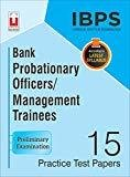 IBPS CWE Bank Probationary OfficersManagement Trainees 15 Practice Test Papers Preliminary Examination English 18.76 by Unique Research Academy
