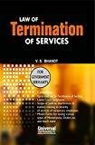 Law of Termination of Services For Government Servants by V S Bhanot