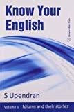 Know Your English - Vol 1 by Upendran S.