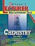 Lecturer Recruitment Test Chemistry by UPKAR PRAKASHAN